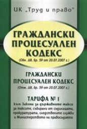 Bulgarian Code of Civil Procedure, part 2