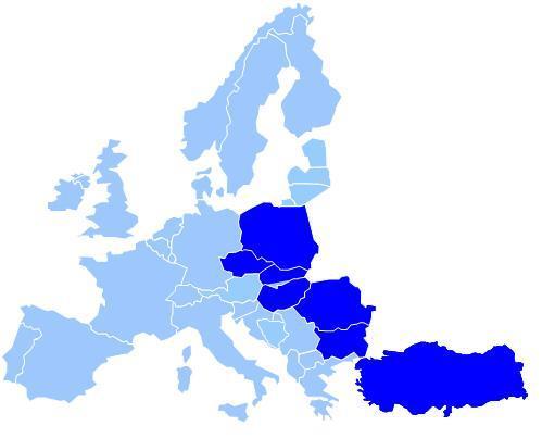 estern europe